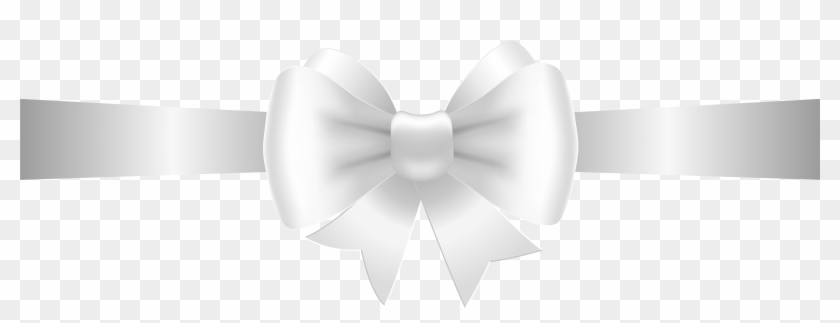 Clipart Bow Black And White.