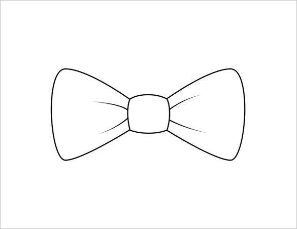 9+ Printable Bow Tie Templates.