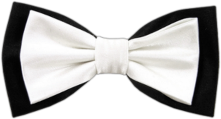 HD White Bow Png.