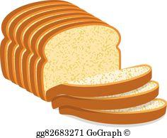 White Bread Clip Art.