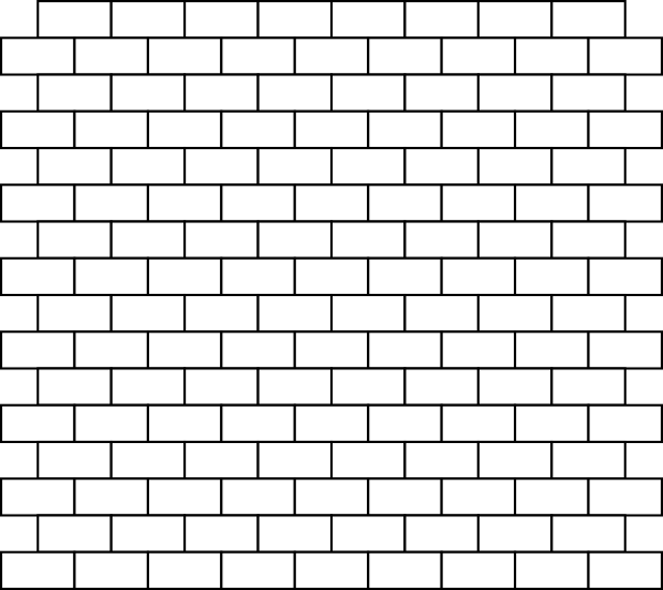 Free Black And White Brick Wall, Download Free Clip Art.