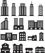 Black white building Clip Art and Illustration. 19,362 black white.
