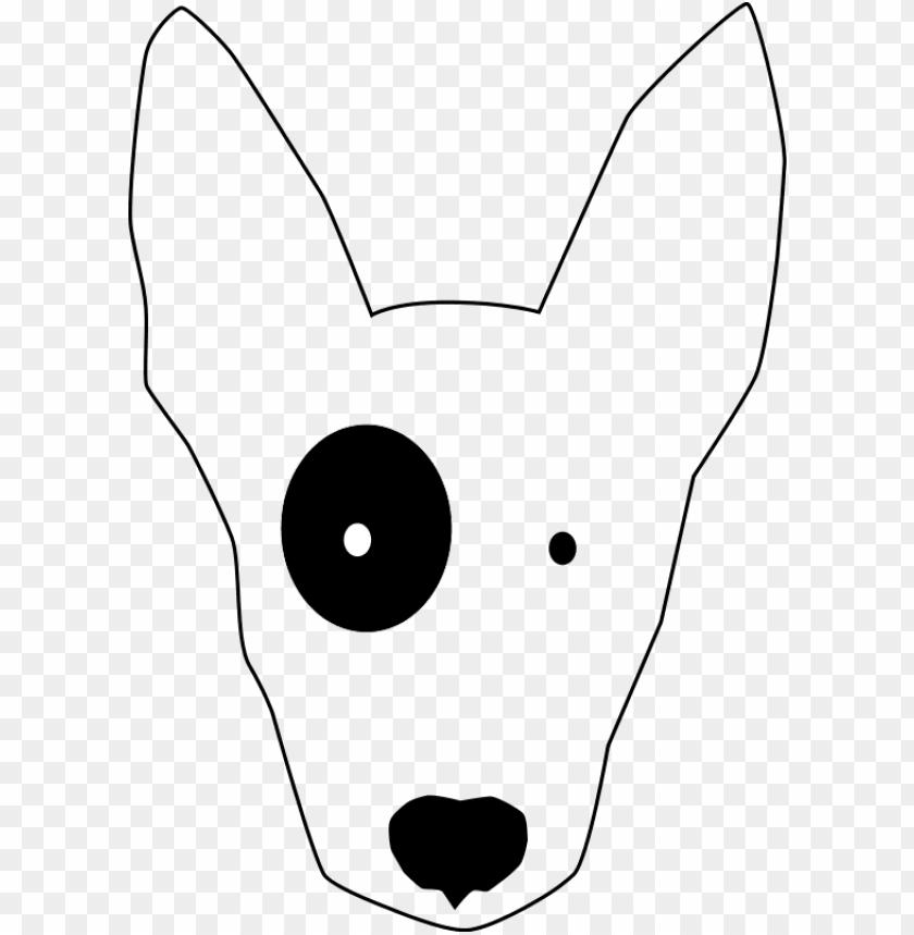 bullterrier head, bujung,bull terrier cartoon,dog.