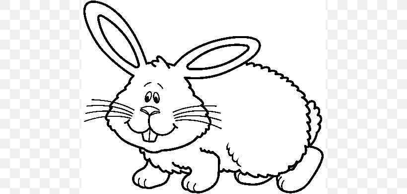 White Rabbit Easter Bunny Clip Art, PNG, 492x392px, White.