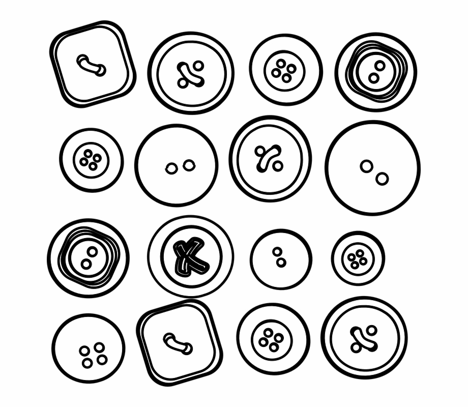Buttons Clipart Sketch.