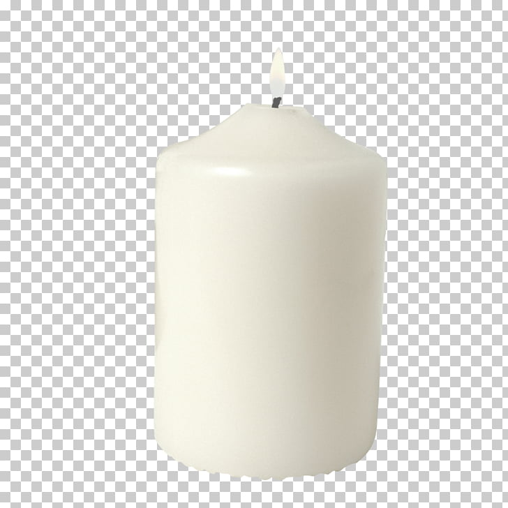 Candle Light White , White candle PNG clipart.