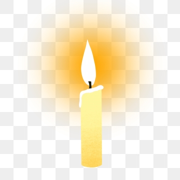 White Candle PNG Images.