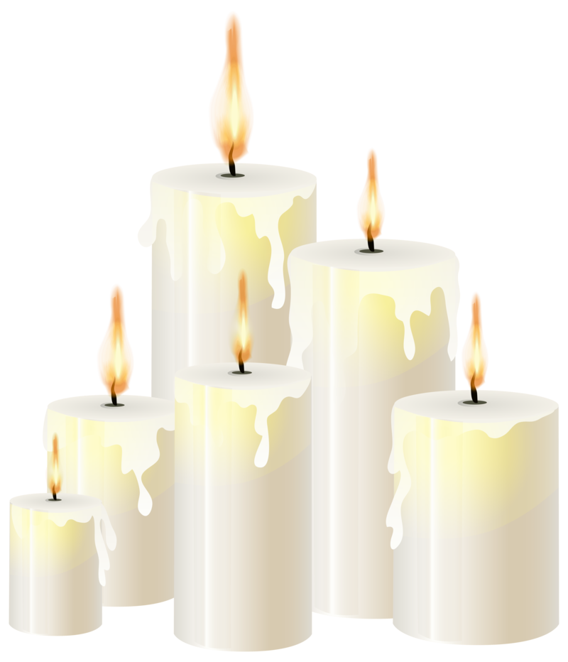 Download Free png white candles png.