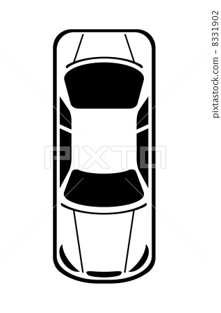 Car seen from above.