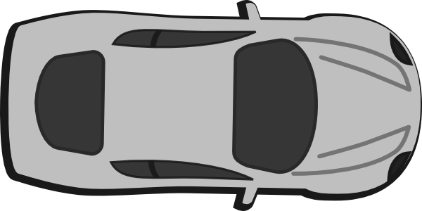 Top View Of Car Clipart.