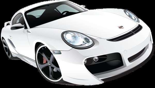 White Car (PNG).