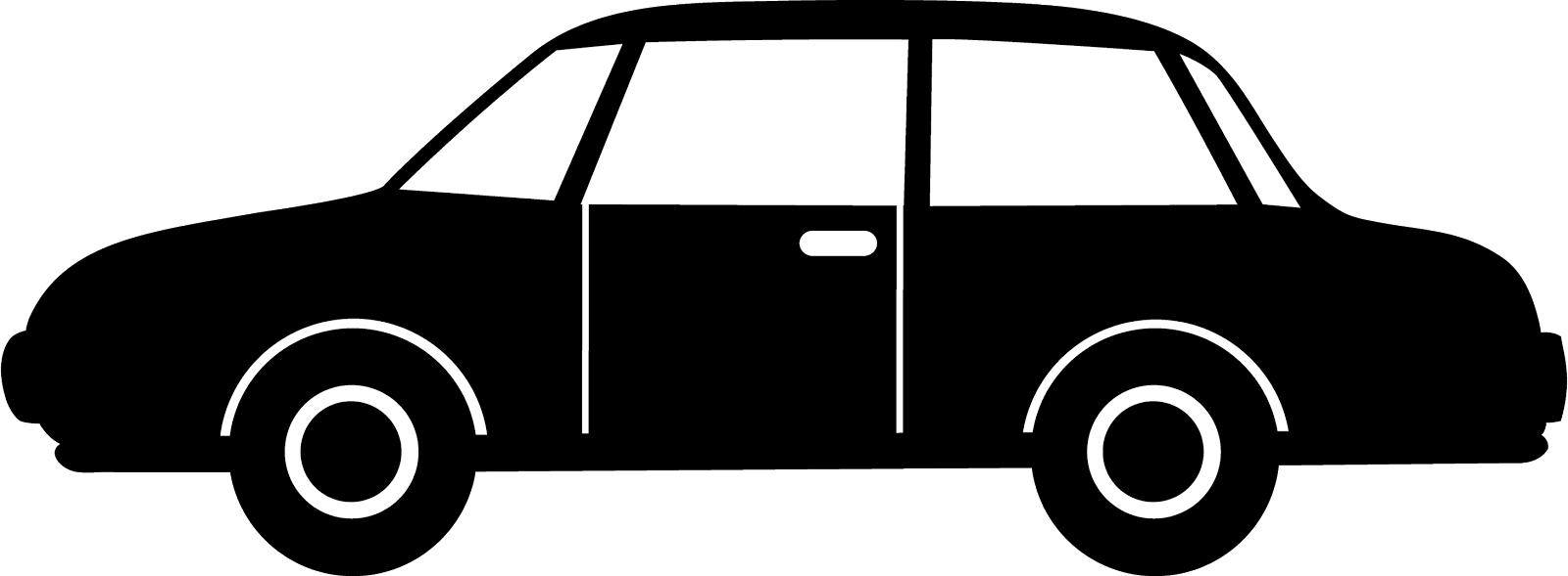 Car Black and white Clip art.