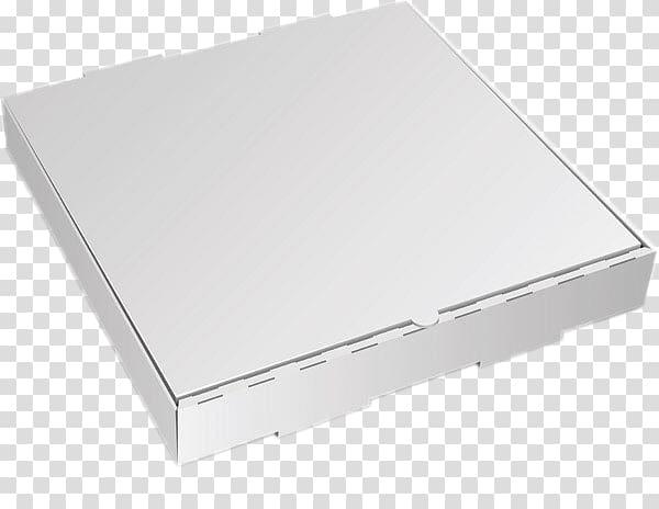 Square white cardboard box, Rectangle, White pizza box.