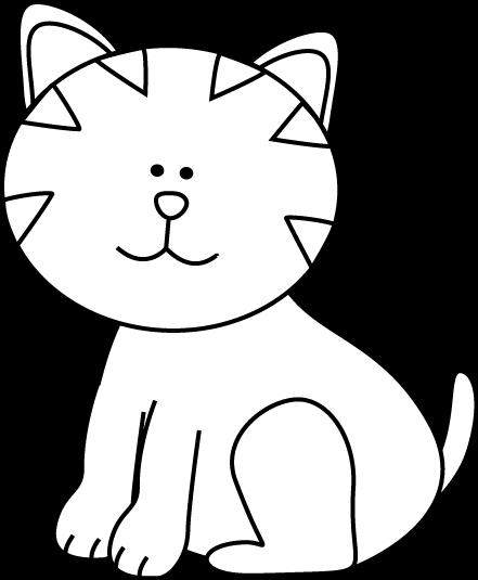 B&W Cat Free / Downloadable.