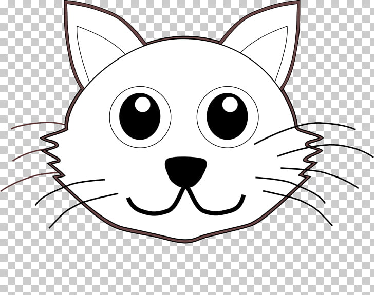 The Cat in the Hat Kitten Coloring book Puppy, cat head PNG.