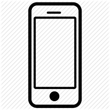 cell phone clipart.