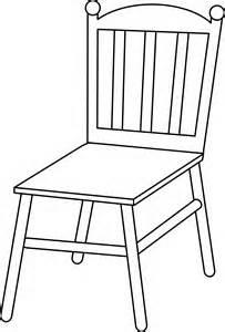 6092 Chair free clipart.