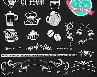 Chalk clipart coffee, Picture #340534 chalk clipart coffee.