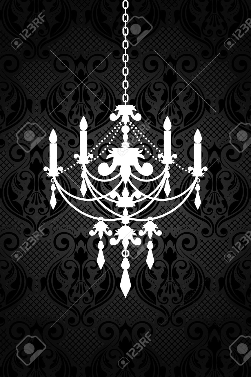 White chandelier clip art clipground 7683 chandelier stock vector illustration and royalty free arubaitofo Image collections