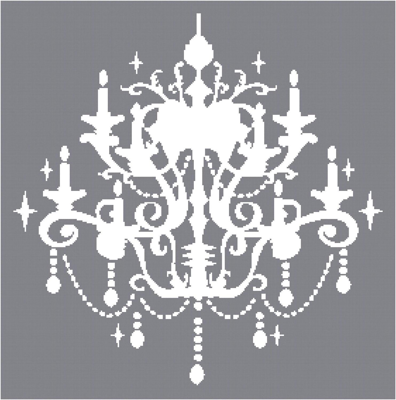 white chandelier clip art Clipground