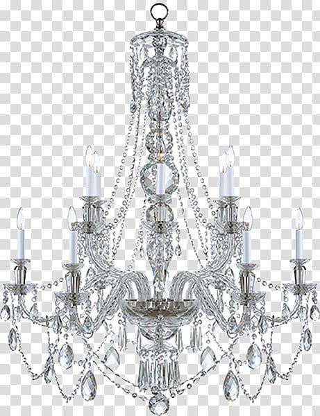 Crystal cut chandelier , Chandelier Lighting Light fixture.
