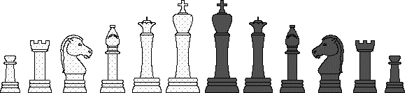 Large Chess Pieces.. free clip art game pieces.