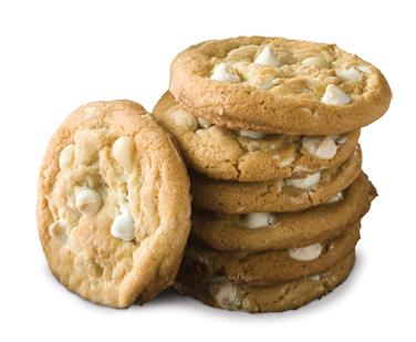 White Chocolate Macadamia Nut Cookie.