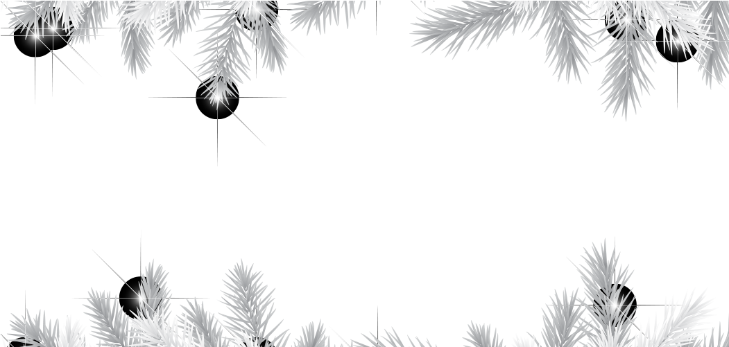 White Christmas Lights Png.