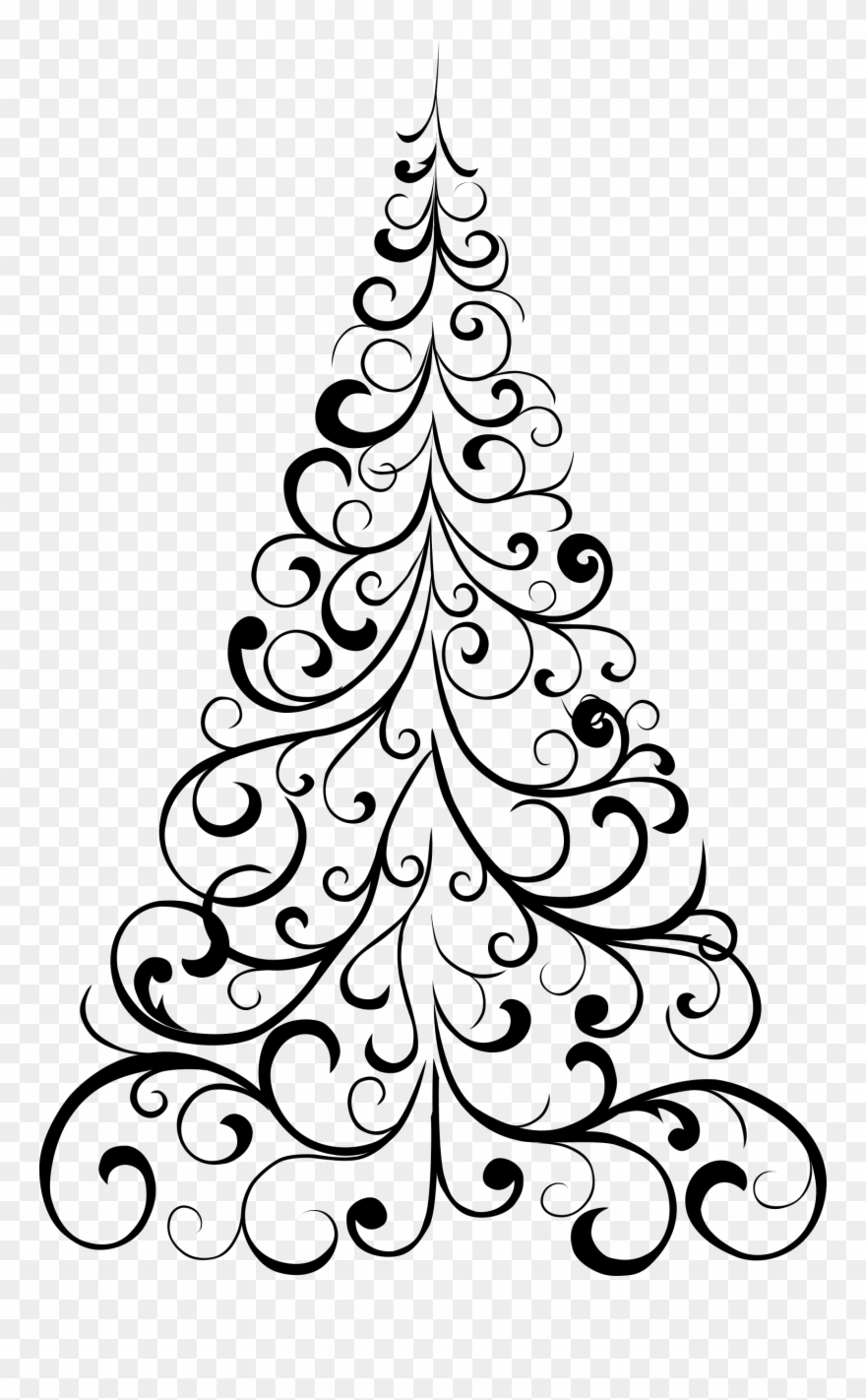 Clipart Ornamental Tree.