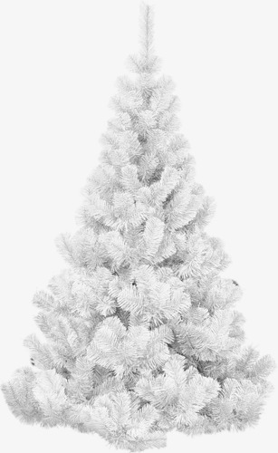 White Christmas Tree Material Png, Tree Clipart, Christmas Tree.