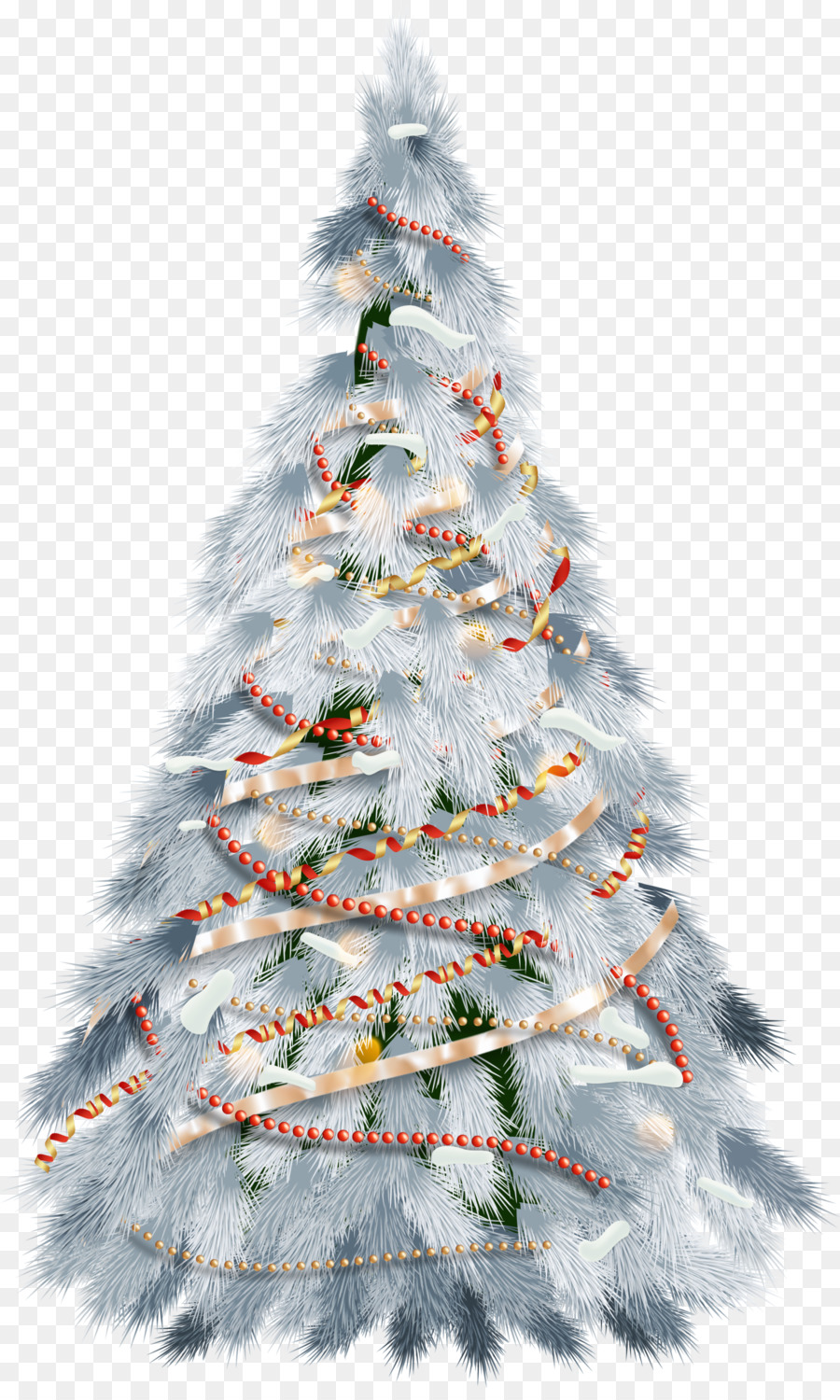 White Christmas Lights png download.