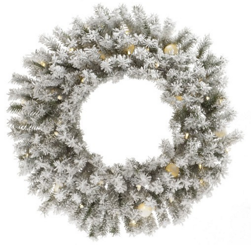 A Gold and White Christmas from Target.
