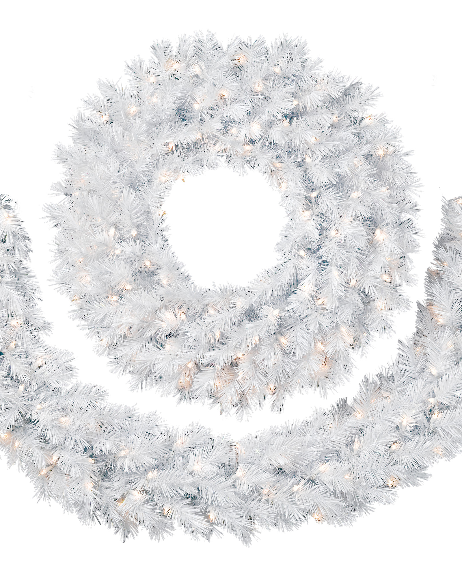 Winter White Wreath.