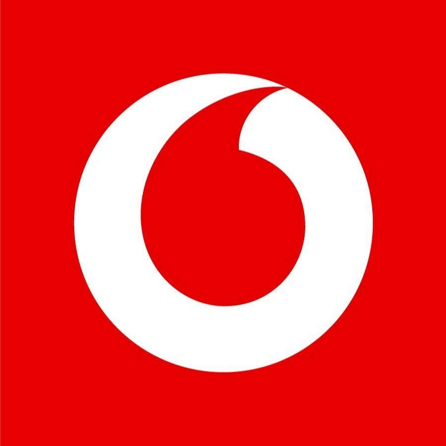 White Circle Red Comma Logo.