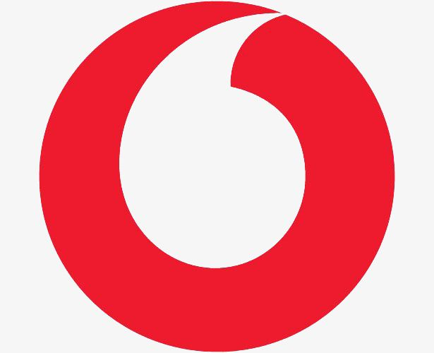 White Circle with Red Comma Logo.