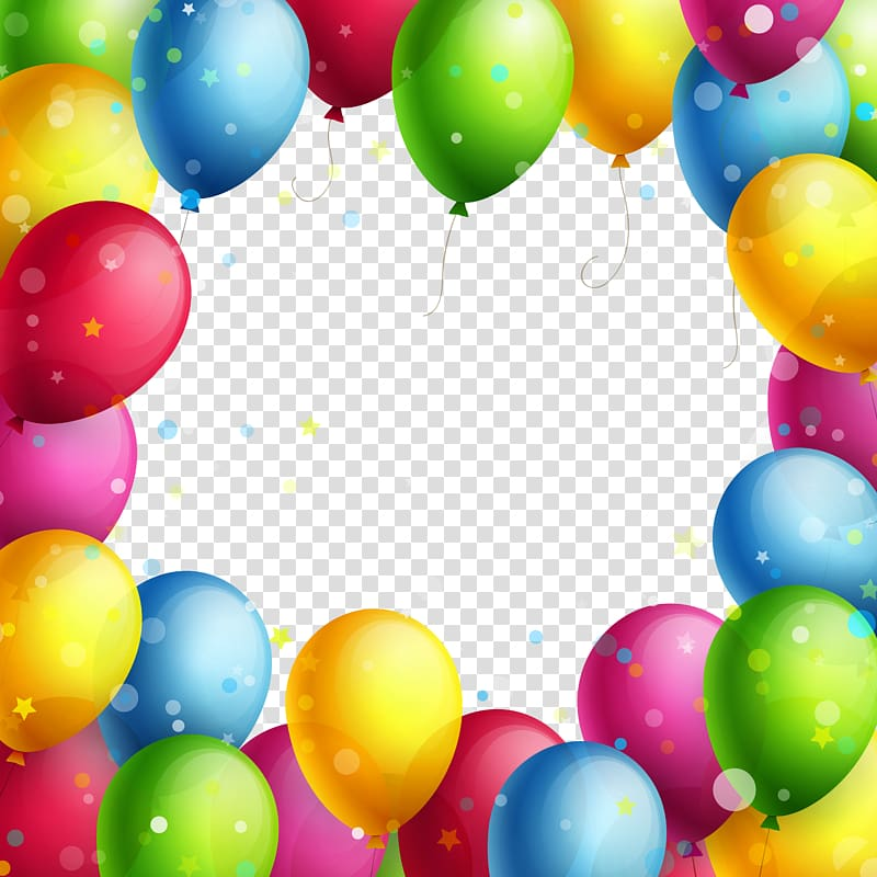 White clipart balloon frame pastel png clipart images.