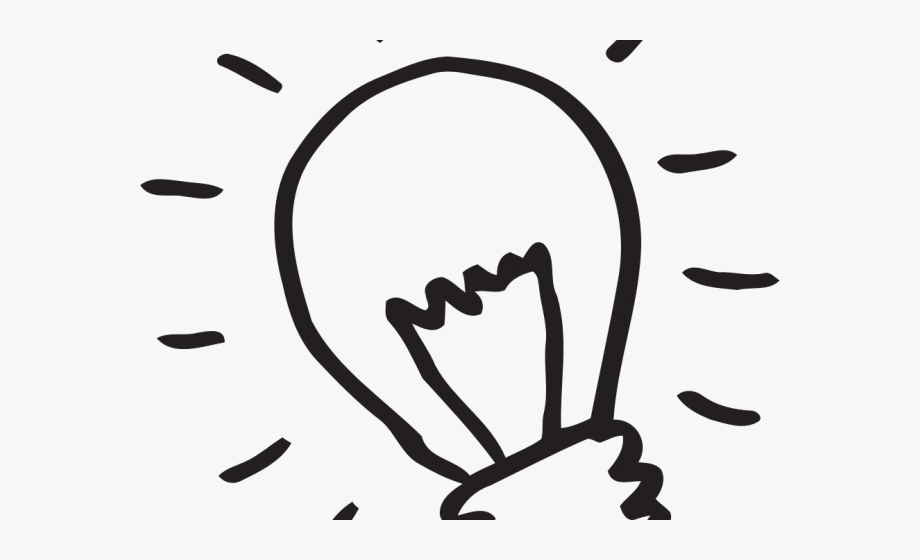 Light Bulb Clipart Retro.