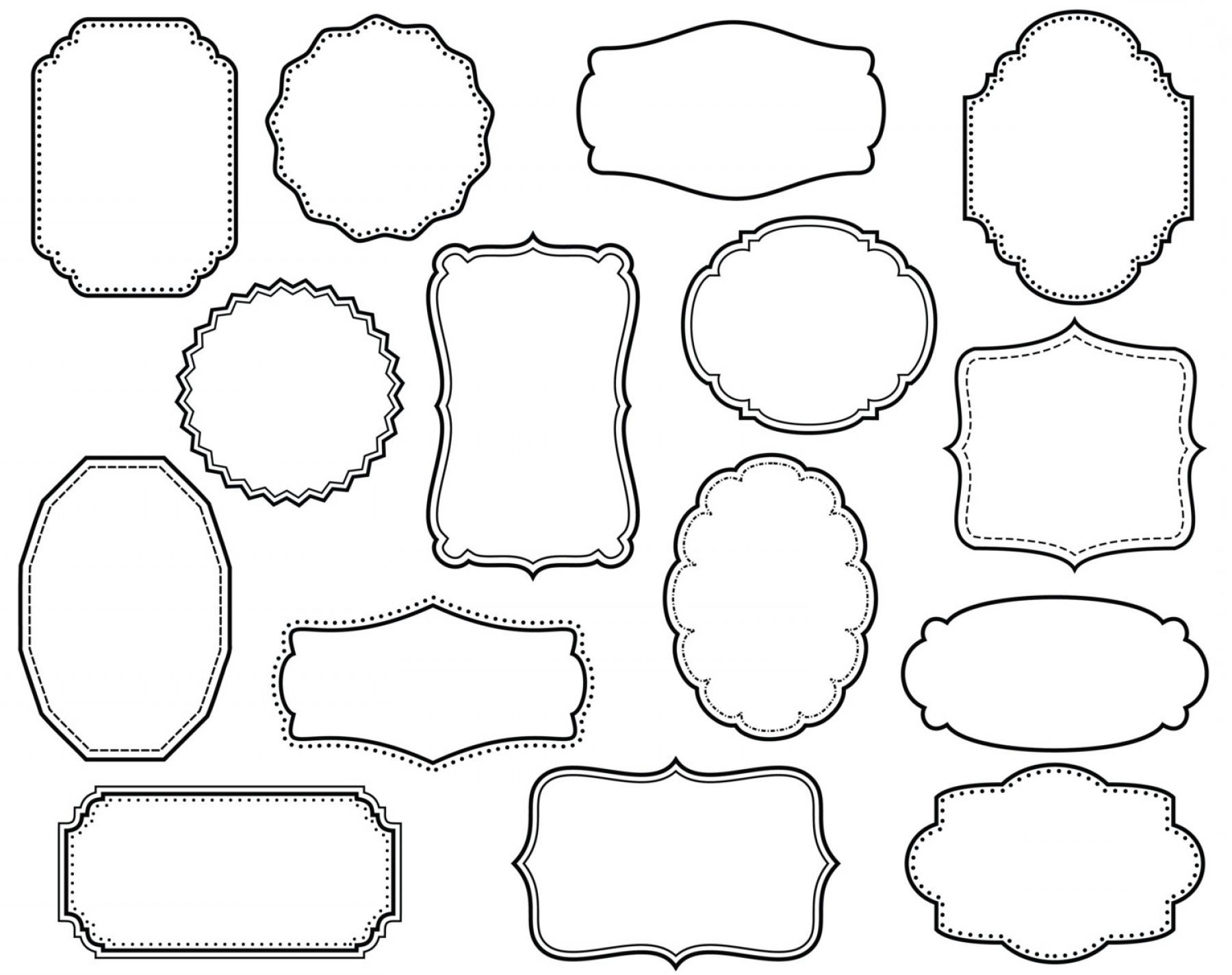 frames vector scrapbook collection. digital scrapbooking frames.