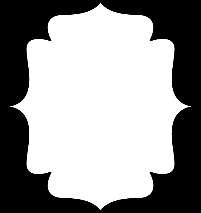 Simple Black And White Frame Clipart#1975037.