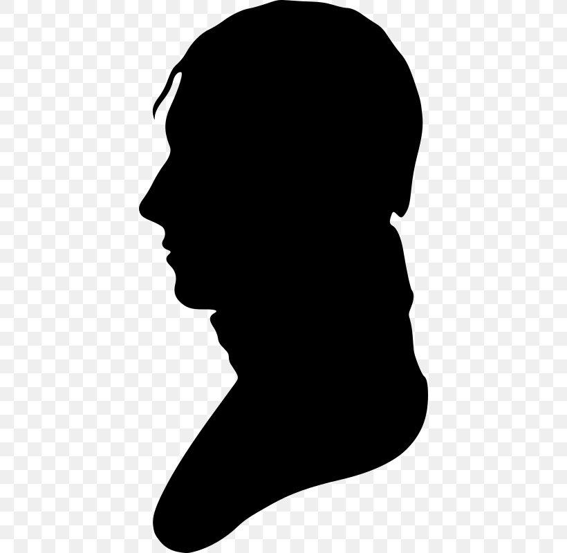 Silhouette Portrait Clip Art, PNG, 418x800px, Silhouette.