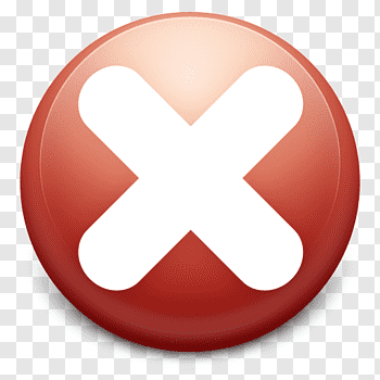 Cancel Icon cutout PNG & clipart images.