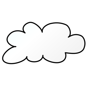 white cloud clipart png 179.