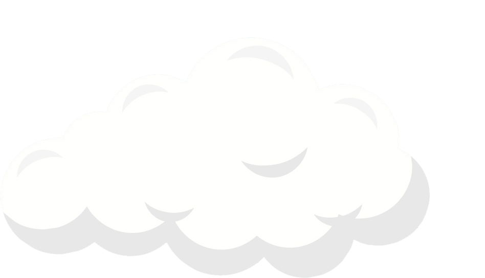 Cloud Clipart, Beautiful White Cloud.