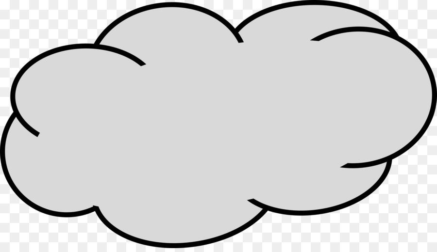 Cloud computing Grey Clip art.