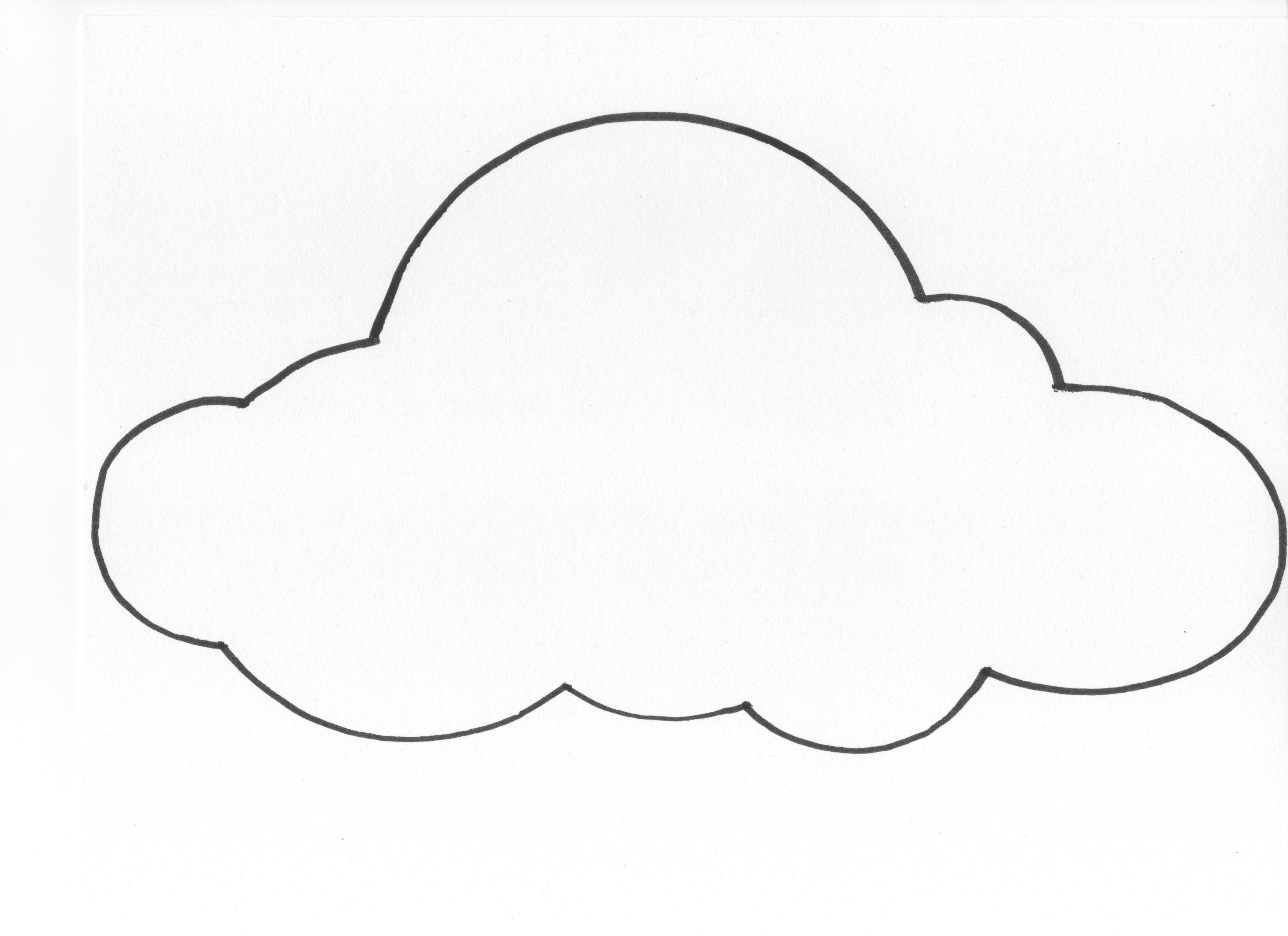 Best White Cloud Clipart #29452.
