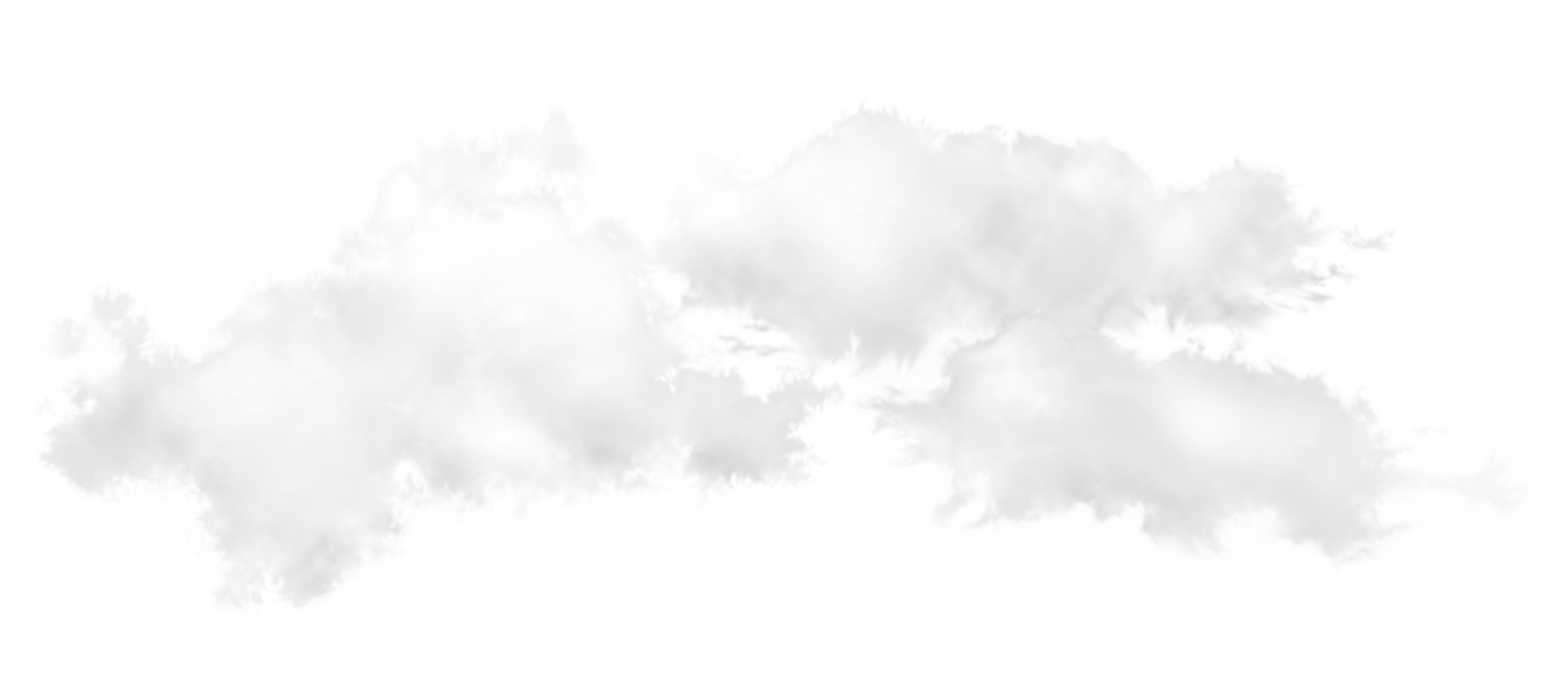 White Clouds PNG Clipart.