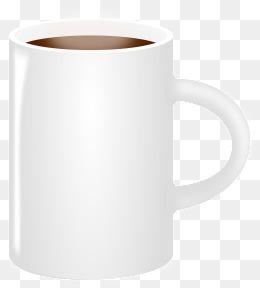 White Mug PNG Images.