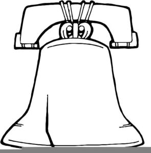 234 Liberty Bell free clipart.