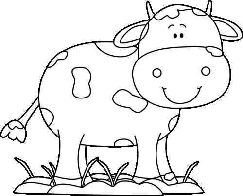 Cow Clip Art.