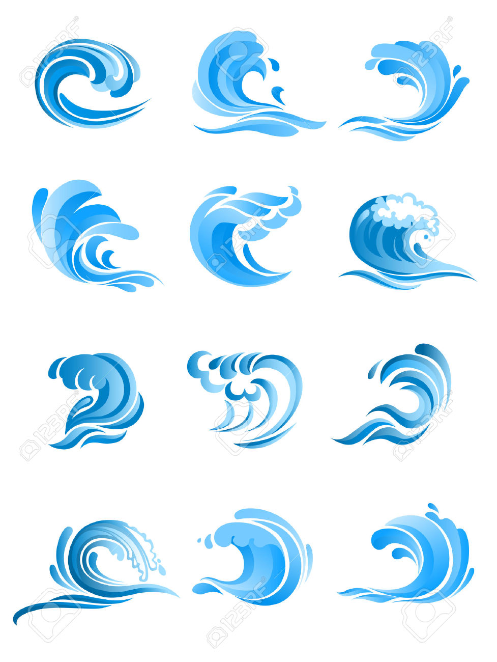 72,171 Wave Crest Stock Illustrations, Cliparts And Royalty Free.